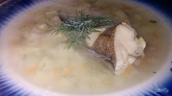 Диетический рыбный суп на скорую руку - фото шаг 8