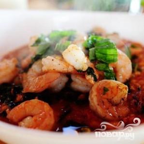 Тосканский фасолевый суп с креветками - фото шаг 9