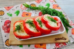 Красивая закуска из перцев и сыра - фото шаг 9