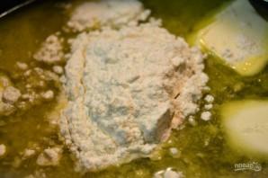 Картофельный пирог с грибным соусом - фото шаг 9