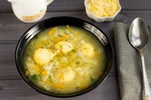 Венгерский суп с сырными клецками - фото шаг 8