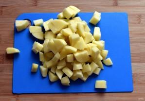 Острый картофельный суп - фото шаг 1