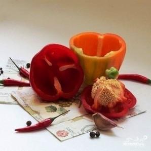 Закуска из болгарского перца - фото шаг 1