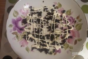 """""""Белая береза"""" (салат с черносливом) - фото шаг 5"""