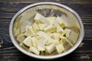 Картофельные ньокки со шпинатом и укропом - фото шаг 2