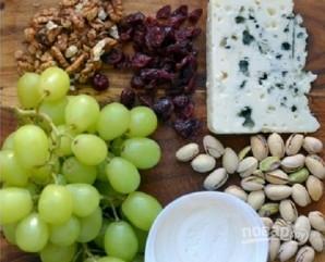 Виноград в сырной шубке - фото шаг 1