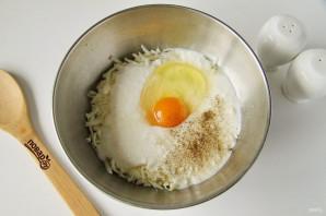 Хачапури для ленивых на сковороде с сыром - фото шаг 3