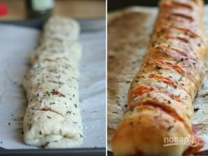 """Закрытая пицца """"Стромболи"""" - фото шаг 7"""