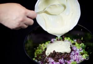 Салат с бальзамическим уксусом - фото шаг 6