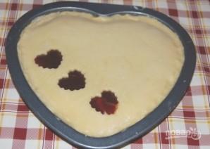 Сладкий пирог на День Святого Валентина - фото шаг 12