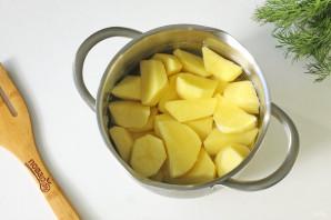 Беляши с картошкой на сковороде - фото шаг 6