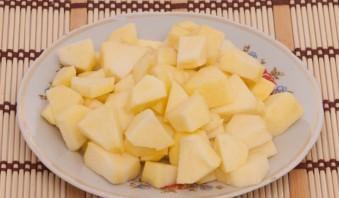 Запеченная тыква с яблоками - фото шаг 3