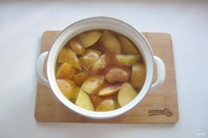 Яблочный компот с корицей - фото шаг 6