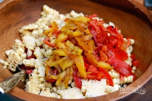 Салат с рукколой - фото шаг 5