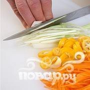 Утка с овощами и рисом - фото шаг 3
