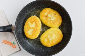Фаршированные картофельные оладьи - фото шаг 11