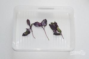 Шашлык с базиликом - фото шаг 2