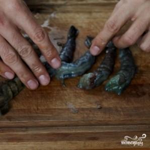 Креветки со спаржей - фото шаг 8