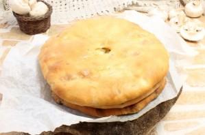 Осетинский пирог с грибами и сыром - фото шаг 5
