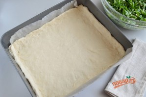 Пирог со шпинатом и укропом - фото шаг 6