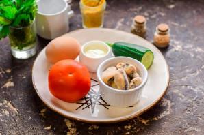 Салат из мидий - фото шаг 1