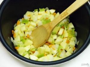 Овощное рагу в мультиварке - фото шаг 5