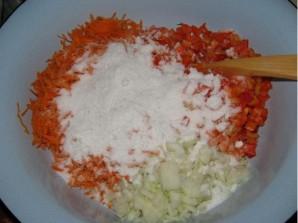 Заправка из моркови и лука на зиму - фото шаг 1