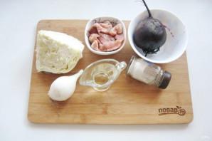 Салат из свеклы и красной рыбы - фото шаг 1