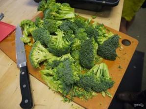 Крем-суп из брокколи и шпината - фото шаг 1