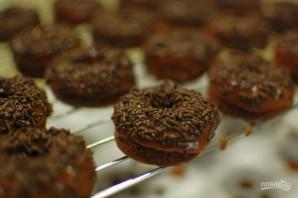 Шоколадные пончики в духовке - фото шаг 11