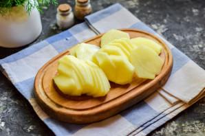 Картофельный мильфей с беконом - фото шаг 2