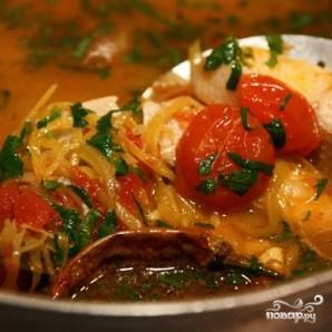 Заправочный рыбный суп - фото шаг 8