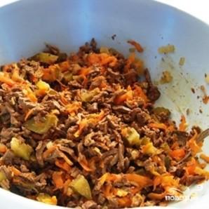Салат из говяжьей печени - фото шаг 2