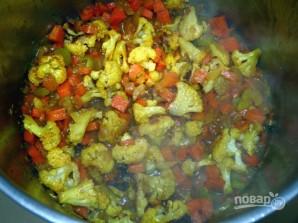 Суп-пюре из цветной капусты с куркумой - фото шаг 6