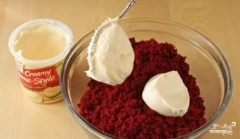 Пирожные с брусникой и сметаной - фото шаг 2