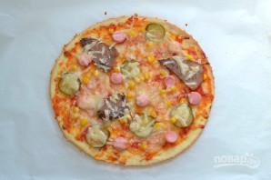 Пицца на ржаном тесте - фото шаг 9