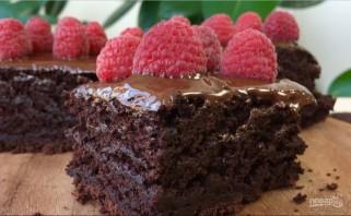 Шоколадный торт за 10 минут - фото шаг 6