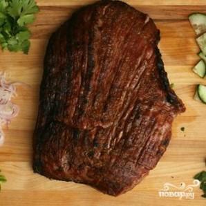 Тайский салат из говядины - фото шаг 2