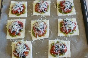 Тарты с помидорами и печеными перцами - фото шаг 4