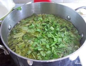 Суп из щавеля с рисом - фото шаг 8