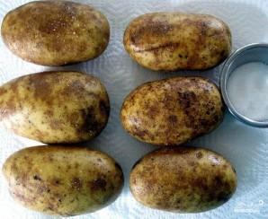 Дважды запеченный картофель - фото шаг 1