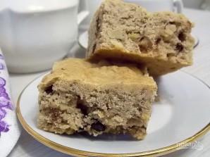 Арахисовый пирог с орехами и шоколадом - фото шаг 7