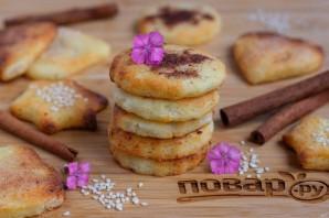 Творожное печенье с корицей и кунжутом - фото шаг 8