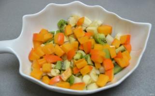 Постный фруктовый салат - фото шаг 6