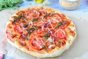 Пицца с прошутто и рукколой - фото шаг 11