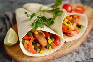 Вегетарианский фахитос - фото шаг 8