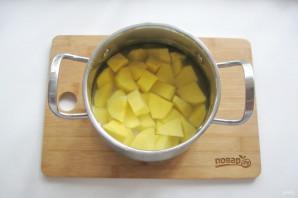 Вареники с солеными груздями и картошкой - фото шаг 7