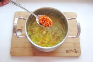 Суп с чечевицей и картофелем - фото шаг 6