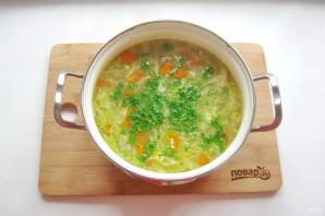 Куриный суп с зеленью - фото шаг 9