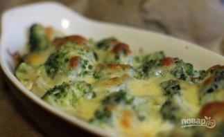 Брокколи под сырным соусом - фото шаг 6